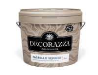 Декоративный шелковисто-матовый лак Pastello Vernici Decorazza